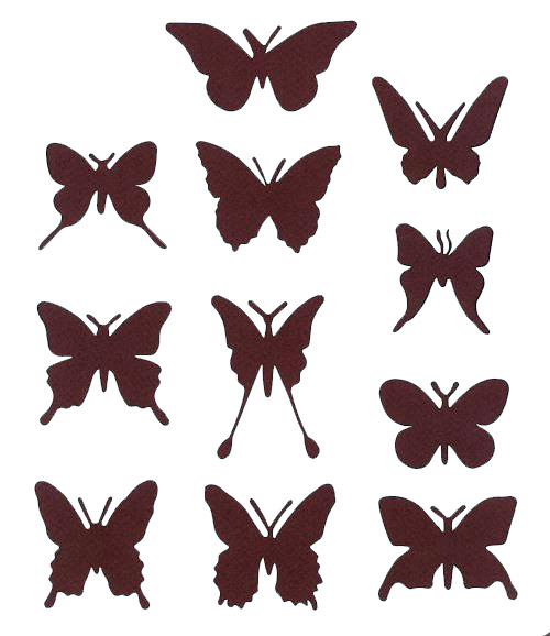 формы бабочек